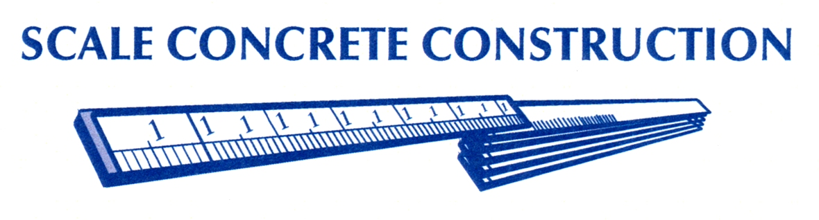 Scale Concrete Construction